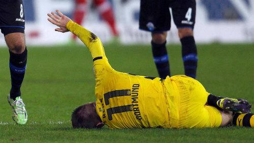 Reus lại chấn thương, Dortmund thêm khốn khổ - 1