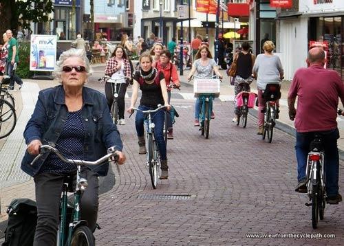 """Thú vị """"Vương quốc xe đạp"""" ở Hà Lan - 4"""