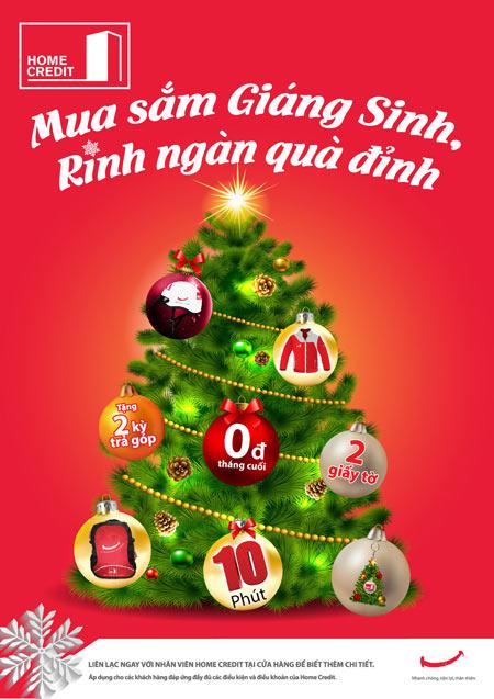 Mua sắm Giáng sinh, rinh ngàn quà đỉnh - 1