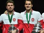 Federer khiêm tốn về chiến công tại Davis Cup