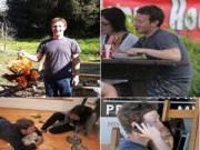 Ảnh: Những khoảnh khắc đời thường của Mark Zuckerberg