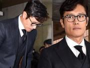 Lee Byung Hun lạnh lùng ra tòa vụ clip nhạy cảm