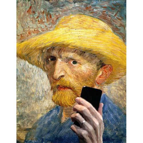"""Khi người xưa """"tự sướng"""" với điện thoại thời nay - 3"""