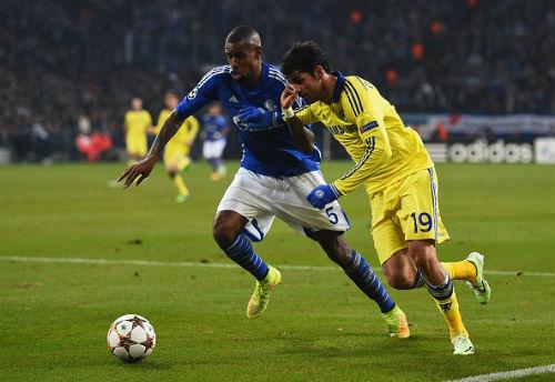 """Chelsea: Costa kém duyên """"bất thường"""" ở C1 - 1"""
