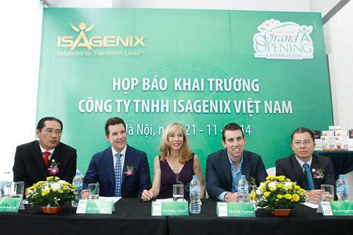 Tập đoàn Isagenix International chính thức khai trương tại Việt Nam - 1