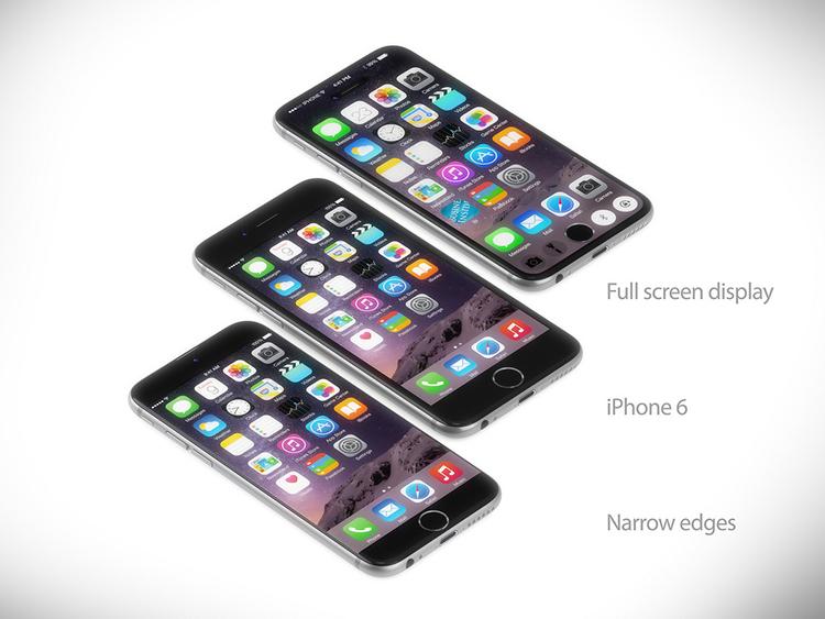 iPhone 7 concept với nút Home nằm trên màn hình cảm ứng - 11