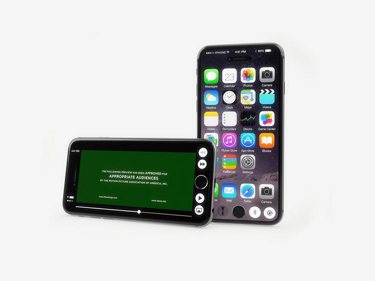 iPhone 7 concept với nút Home nằm trên màn hình cảm ứng - 12