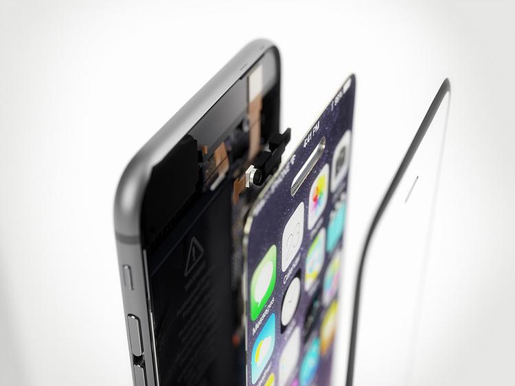 iPhone 7 concept với nút Home nằm trên màn hình cảm ứng - 13