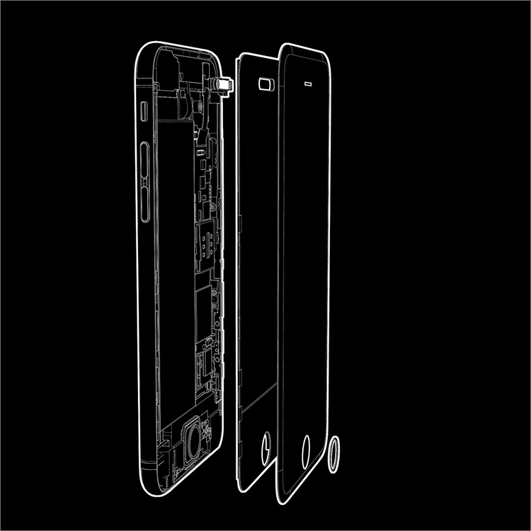 iPhone 7 concept với nút Home nằm trên màn hình cảm ứng - 14