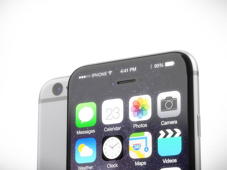 iPhone 7 concept với nút Home nằm trên màn hình cảm ứng - 2