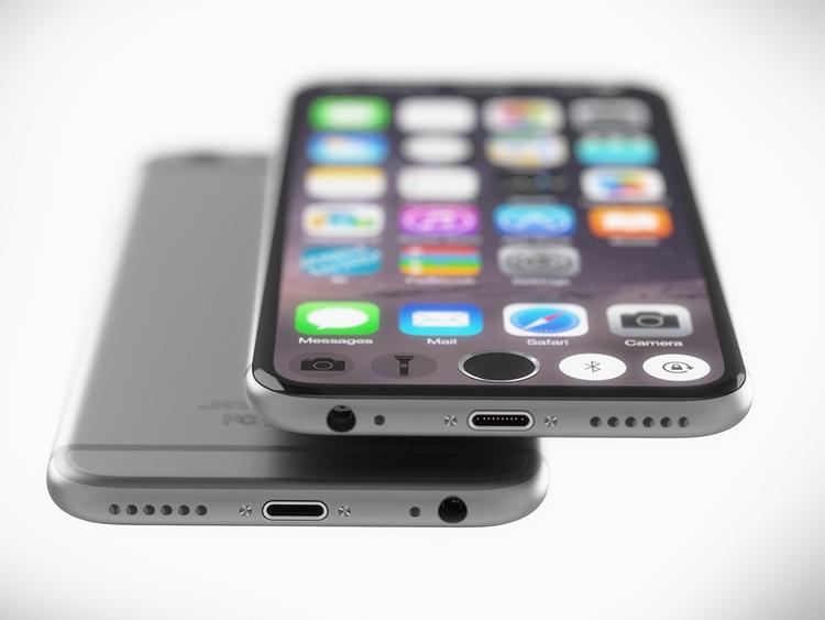 iPhone 7 concept với nút Home nằm trên màn hình cảm ứng - 3