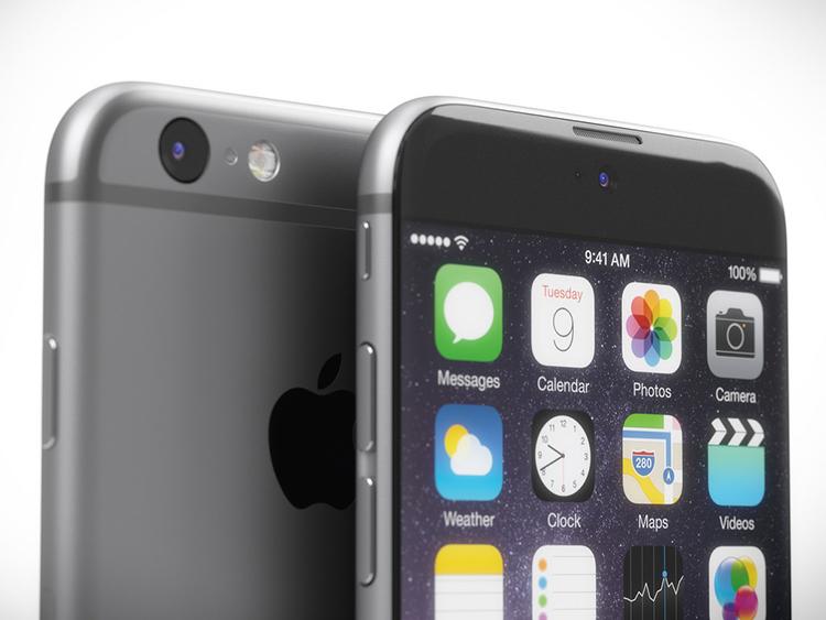 iPhone 7 concept với nút Home nằm trên màn hình cảm ứng - 4
