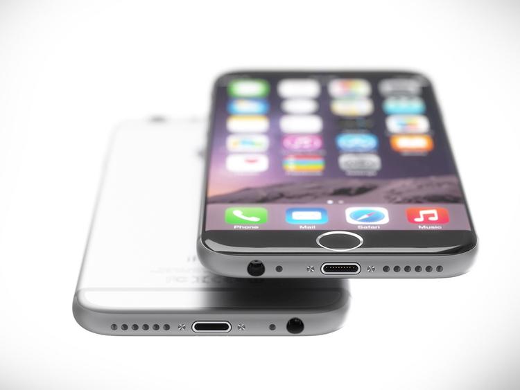 iPhone 7 concept với nút Home nằm trên màn hình cảm ứng - 5