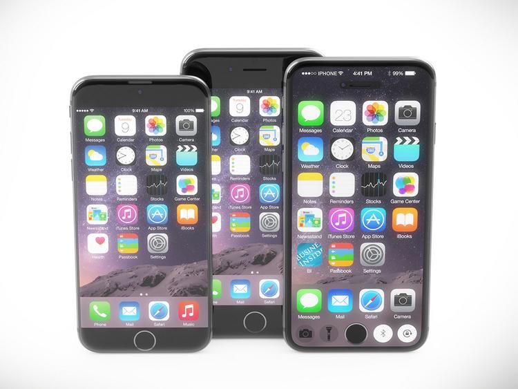 iPhone 7 concept với nút Home nằm trên màn hình cảm ứng - 6