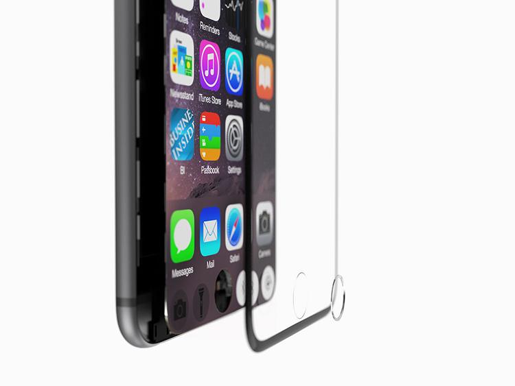 iPhone 7 concept với nút Home nằm trên màn hình cảm ứng - 8