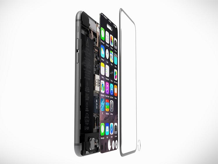 iPhone 7 concept với nút Home nằm trên màn hình cảm ứng - 9