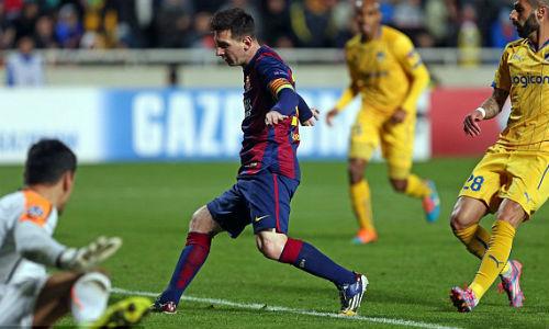 """Messi và Suarez đạt cột mốc mới, Enrique như """"trên mây"""" - 1"""