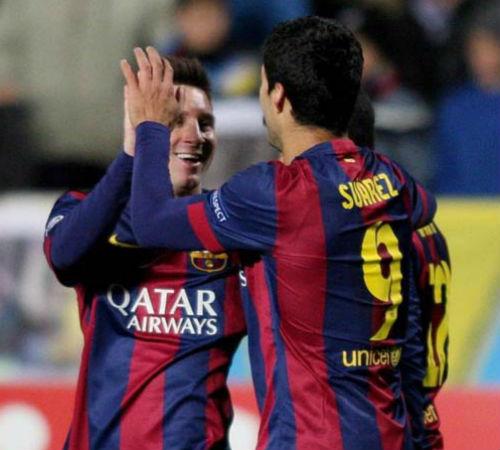 """Messi và Suarez đạt cột mốc mới, Enrique như """"trên mây"""" - 2"""