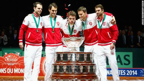 Federer vô địch Davis Cup: Vĩ đại và vĩ đại nhất - 1