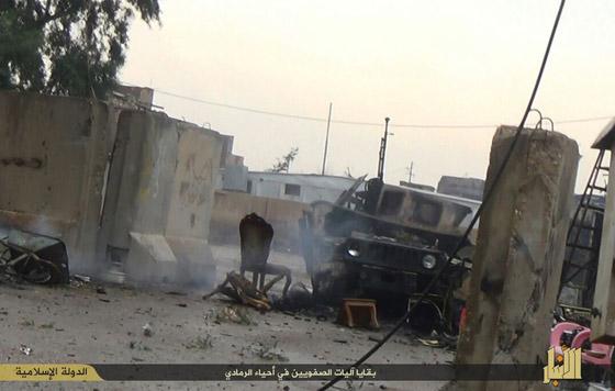 Thành phố trọng yếu của Iraq sắp rơi vào tay IS - 4