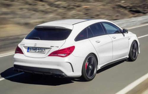 Mercedes-Benz CLA và CLA 45 AMG Shooting Brake lộ diện - 2