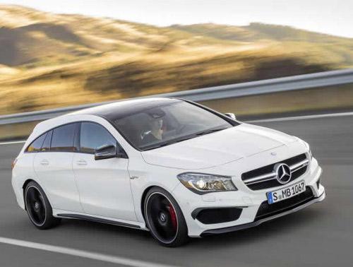 Mercedes-Benz CLA và CLA 45 AMG Shooting Brake lộ diện - 3