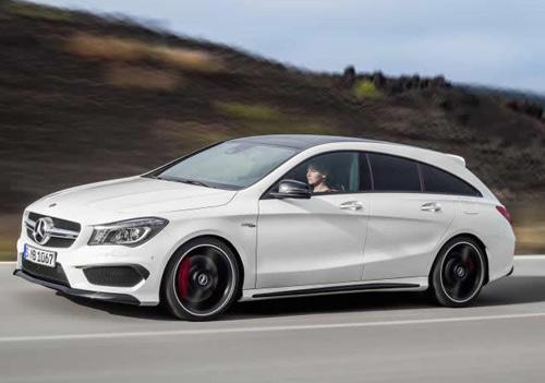 Mercedes-Benz CLA và CLA 45 AMG Shooting Brake lộ diện - 5