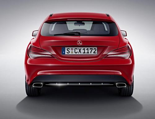 Mercedes-Benz CLA và CLA 45 AMG Shooting Brake lộ diện - 6