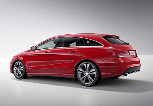 Mercedes-Benz CLA và CLA 45 AMG Shooting Brake lộ diện - 8
