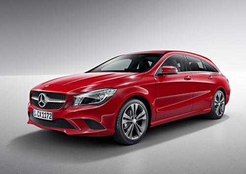 Mercedes-Benz CLA và CLA 45 AMG Shooting Brake lộ diện - 9