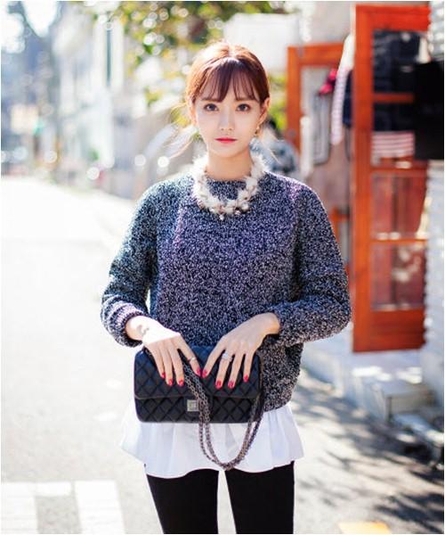 Mặc áo len đẹp và lạ cho ngày lạnh - 9