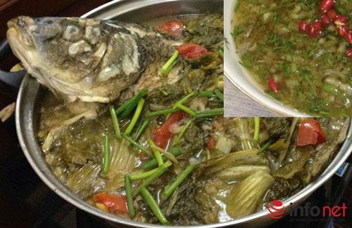 Cách làm món cá chép om dưa chua thanh, đậm đà - 1