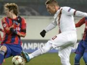 CSKA Moscow – AS Roma: 1-1: Totti là chưa đủ