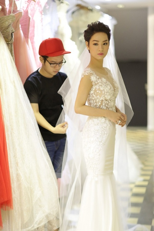 Những cô dâu đẹp nhất showbiz Việt 2014 - 9