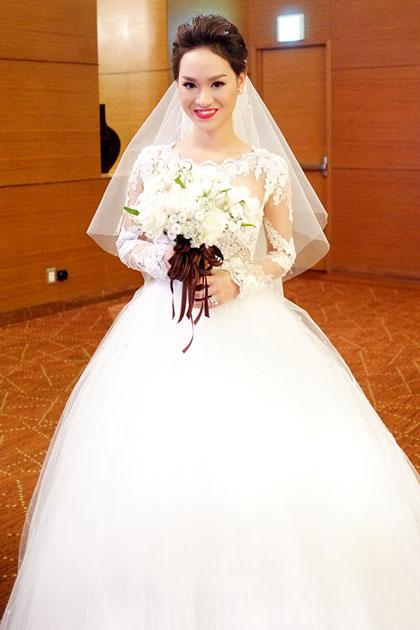 Những cô dâu đẹp nhất showbiz Việt 2014 - 10
