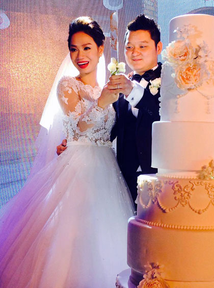 Những cô dâu đẹp nhất showbiz Việt 2014 - 11