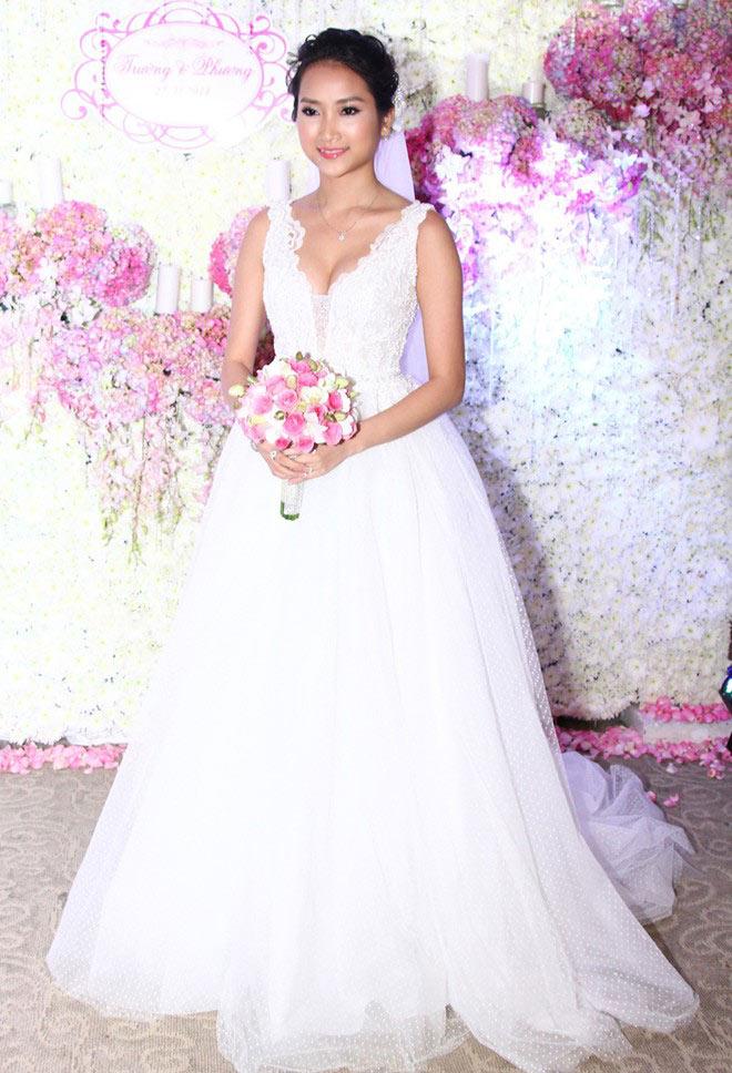 Những cô dâu đẹp nhất showbiz Việt 2014 - 2