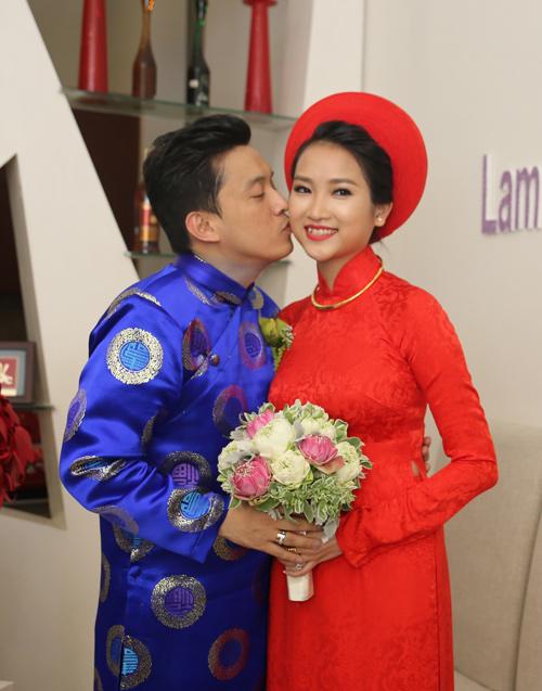Những cô dâu đẹp nhất showbiz Việt 2014 - 4