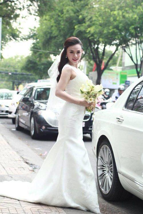 Những cô dâu đẹp nhất showbiz Việt 2014 - 13