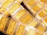 """Vàng nội vàng ngoại cùng """"lao dốc"""""""