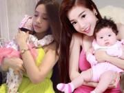 6 hot girl xinh đẹp hơn sau khi làm mẹ