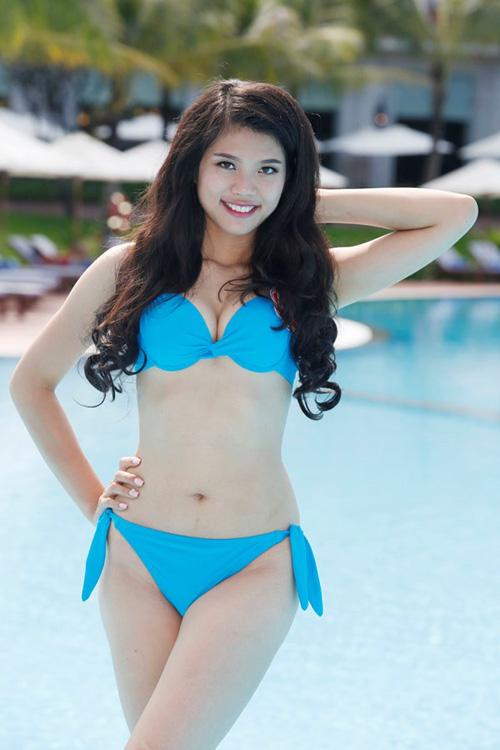 11 khuôn ngực quyến rũ nhất vòng chung kết Hoa hậu VN - 7