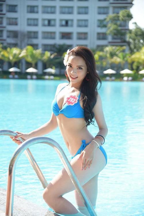 11 khuôn ngực quyến rũ nhất vòng chung kết Hoa hậu VN - 13