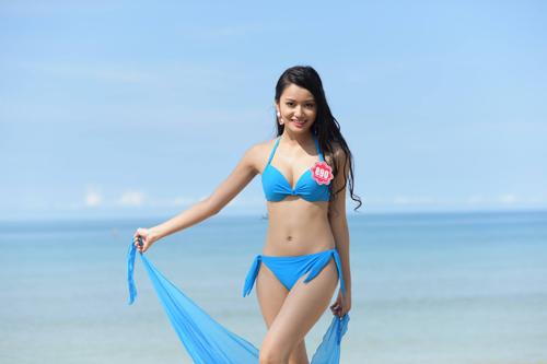 11 khuôn ngực quyến rũ nhất vòng chung kết Hoa hậu VN - 8