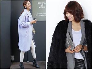 """4 mẫu áo khoác """"sang chảnh"""" cho ngày lạnh"""