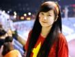 Cô gái khóc tại giải U19 nổi bật cổ vũ ĐT Việt Nam