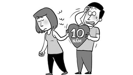 Lấy chồng sau 10 năm yêu đơn phương