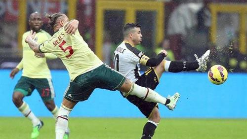 Milan – Udinese: Thần tài Menez - 1