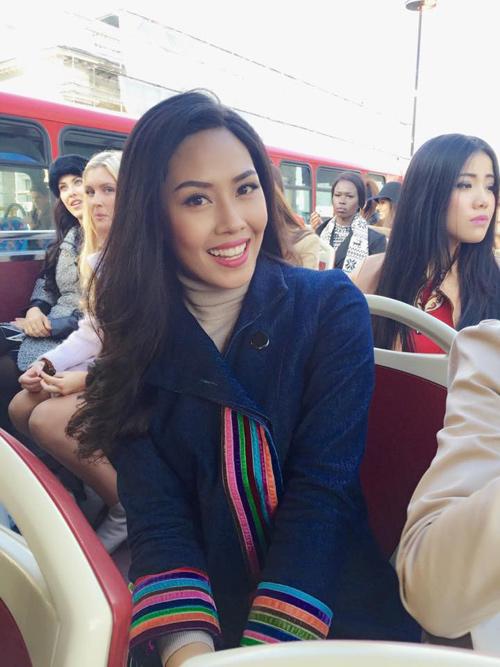 Nghe Nguyễn Thị Loan nói tiếng Anh tại Miss World 2014 - 2