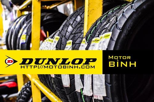 Môtô Bình đưa vỏ xe máy Dunlop đến gần với người tiêu dùng - 1